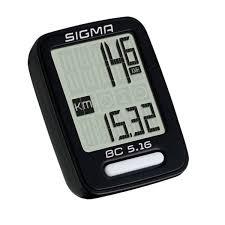 Polkupyörän mittari SIGMA BC 5.16