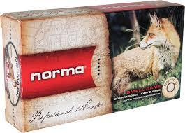 Norma .22-250 Rem. 3,4g/53 SP 20 kpl / ras