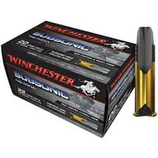 Winchester 22 LR Subsonic 42 MAX 2,72g, 50 kpl/ras