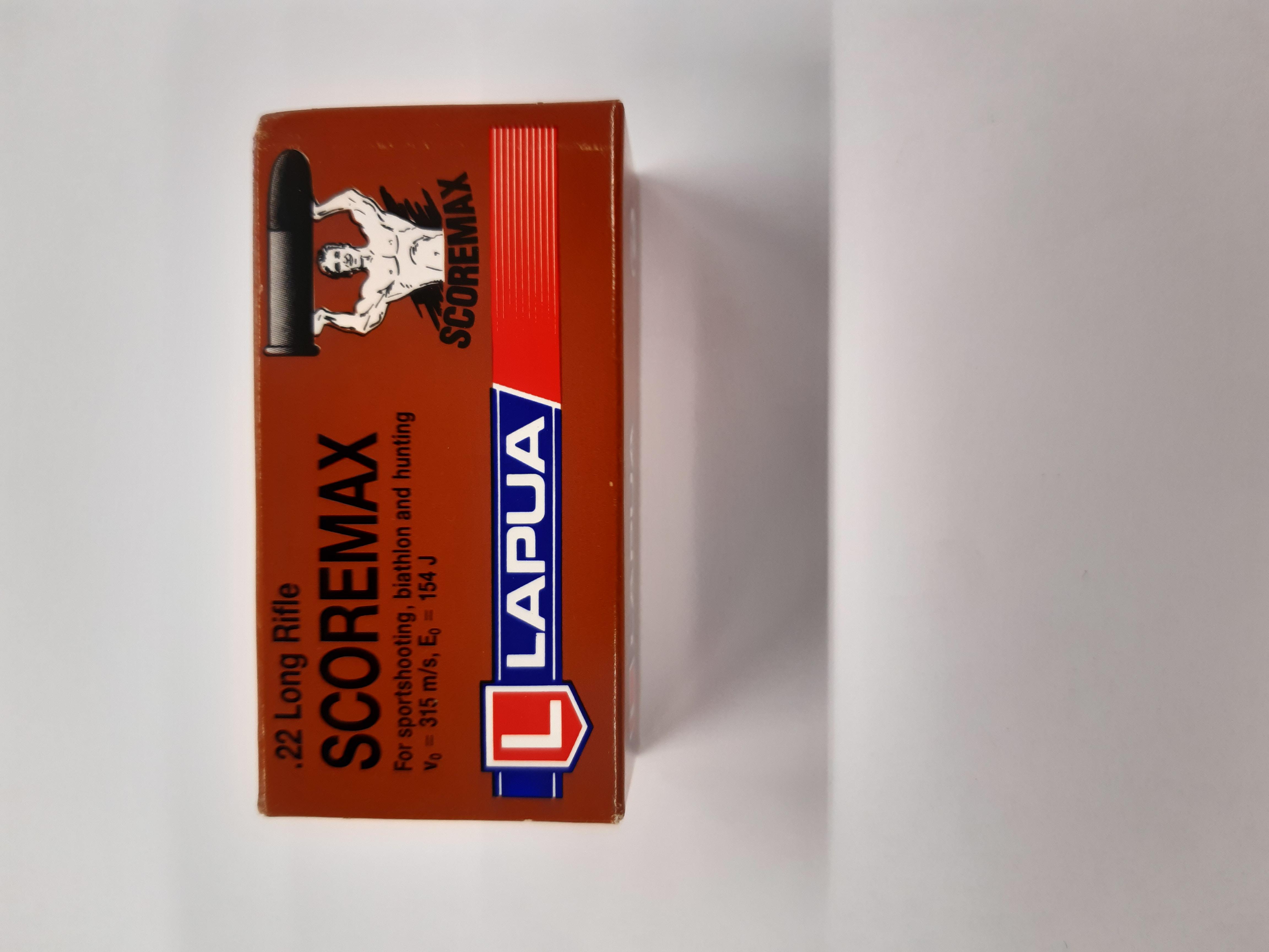 Lapua Scoremax 22LR piekkarin paukku