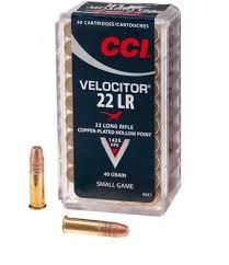 CCI Velocitor 22 LR GDHP 2,6g 437 m/s, 50 kpl/ras