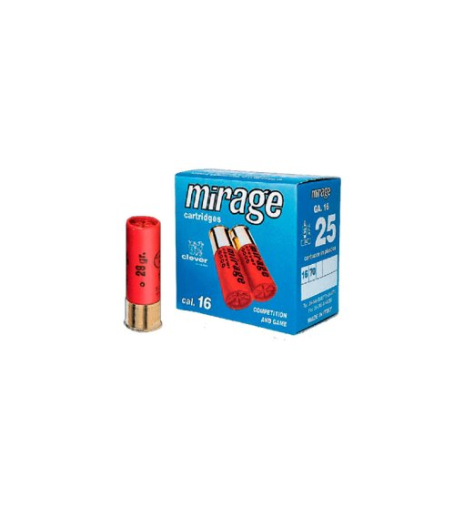 Mirage Soft Steel Hunting T3 16/70 24g No.5