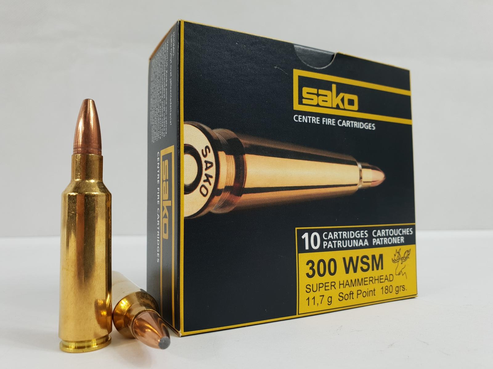 Sako 300 WSM Super Hammerhead 11,7g (236A) 10 kpl / ras