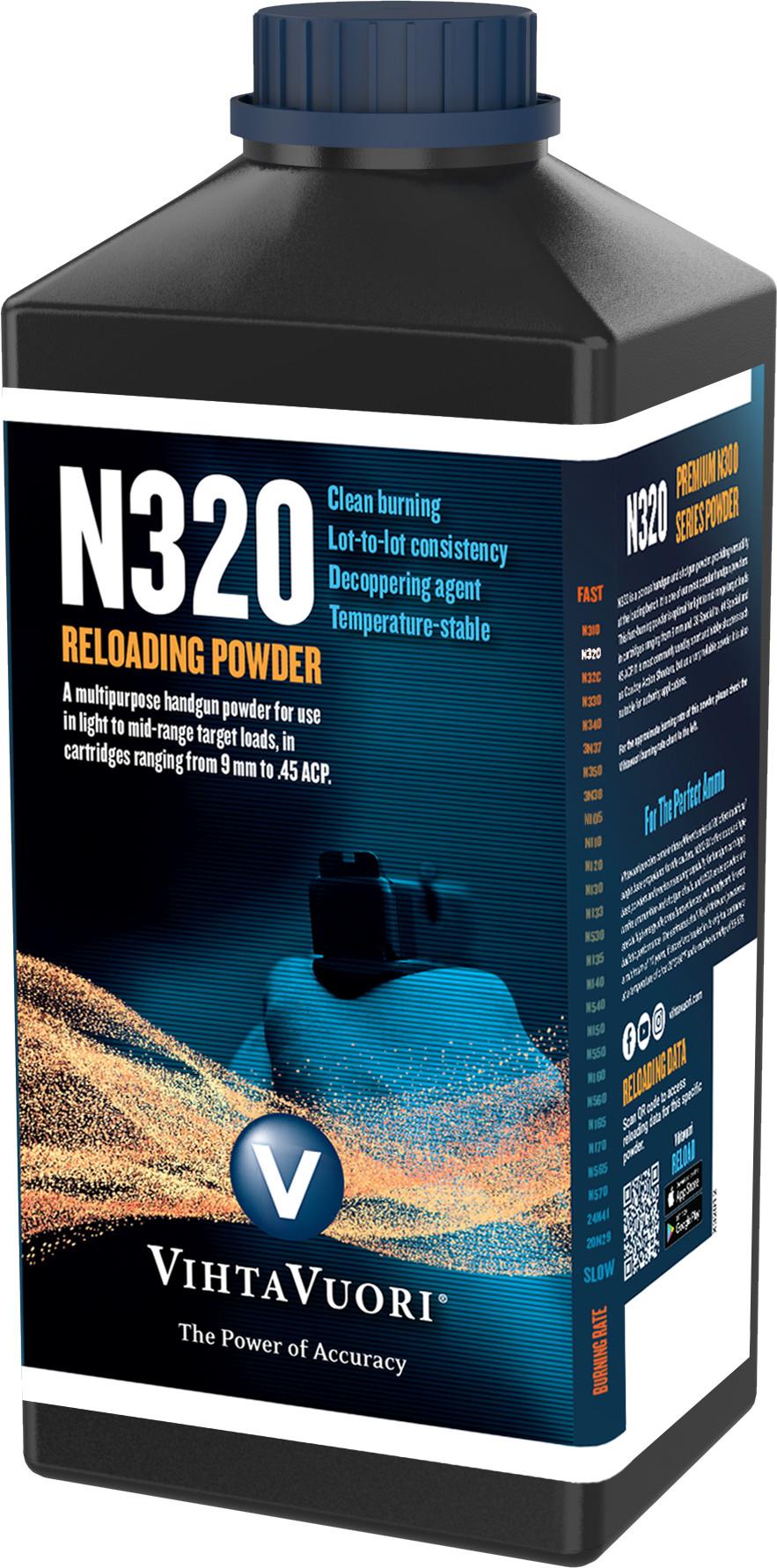 Vihtavuori N320 ruuti, 0,5 kg purkki