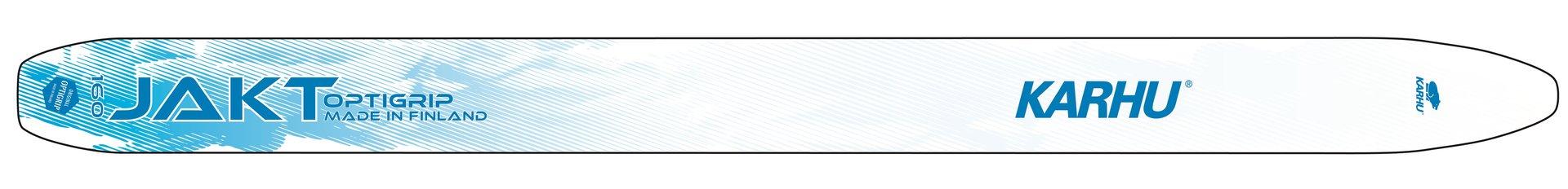 Karhu Jakt Optigrip metsäsukset, 160 cm, leveä