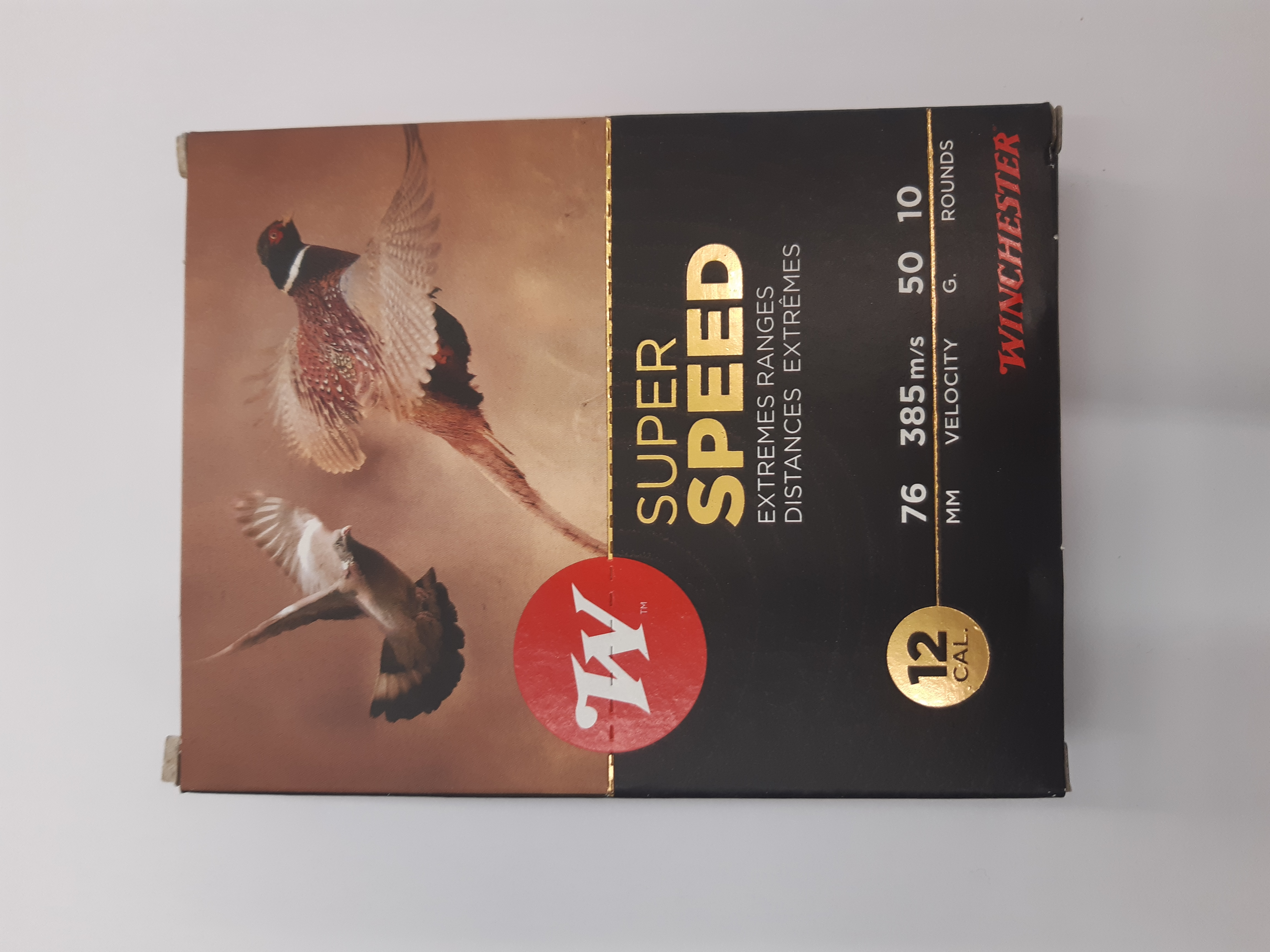 Winchester Super Speed 12/76. 50g, 10 kpl / rasia