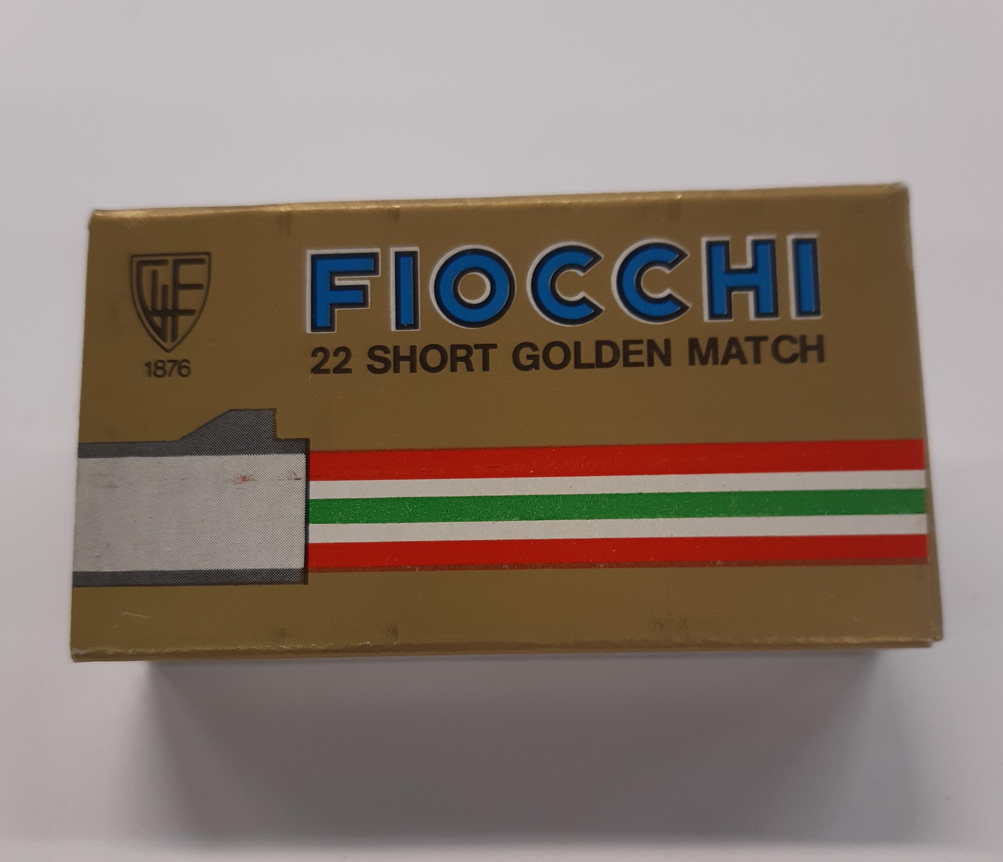 Fiocchi 22 short Golden Match 50kpl