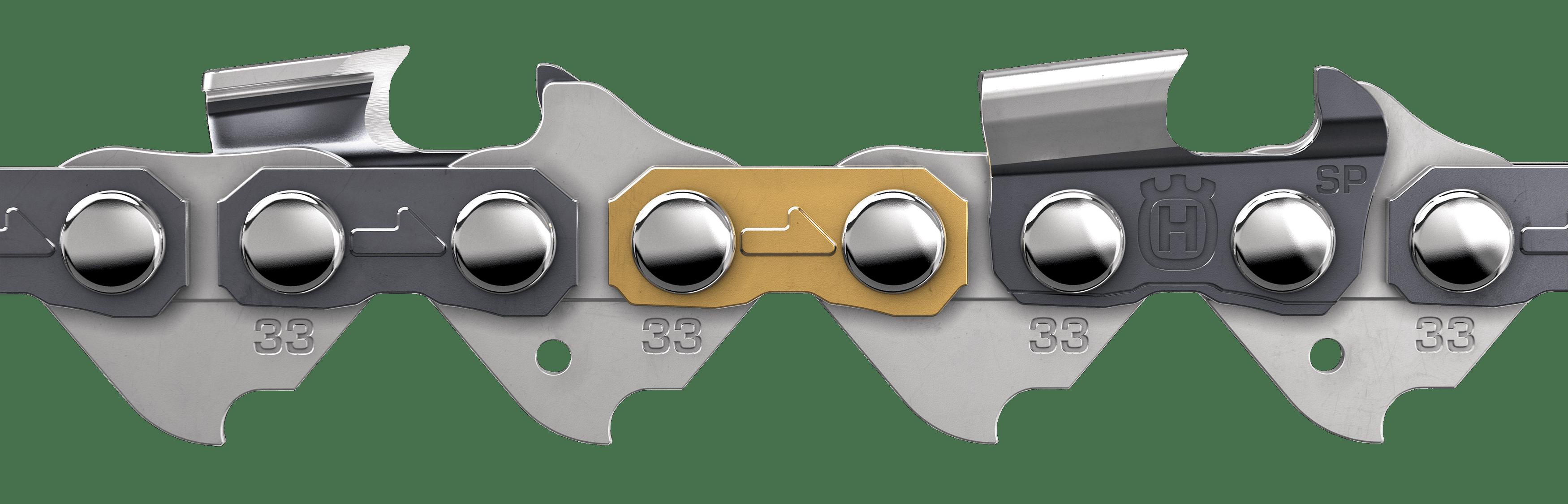 """TERÄKETJU X-cut SP33G 18"""" PIXEL 72L 1,3mm"""