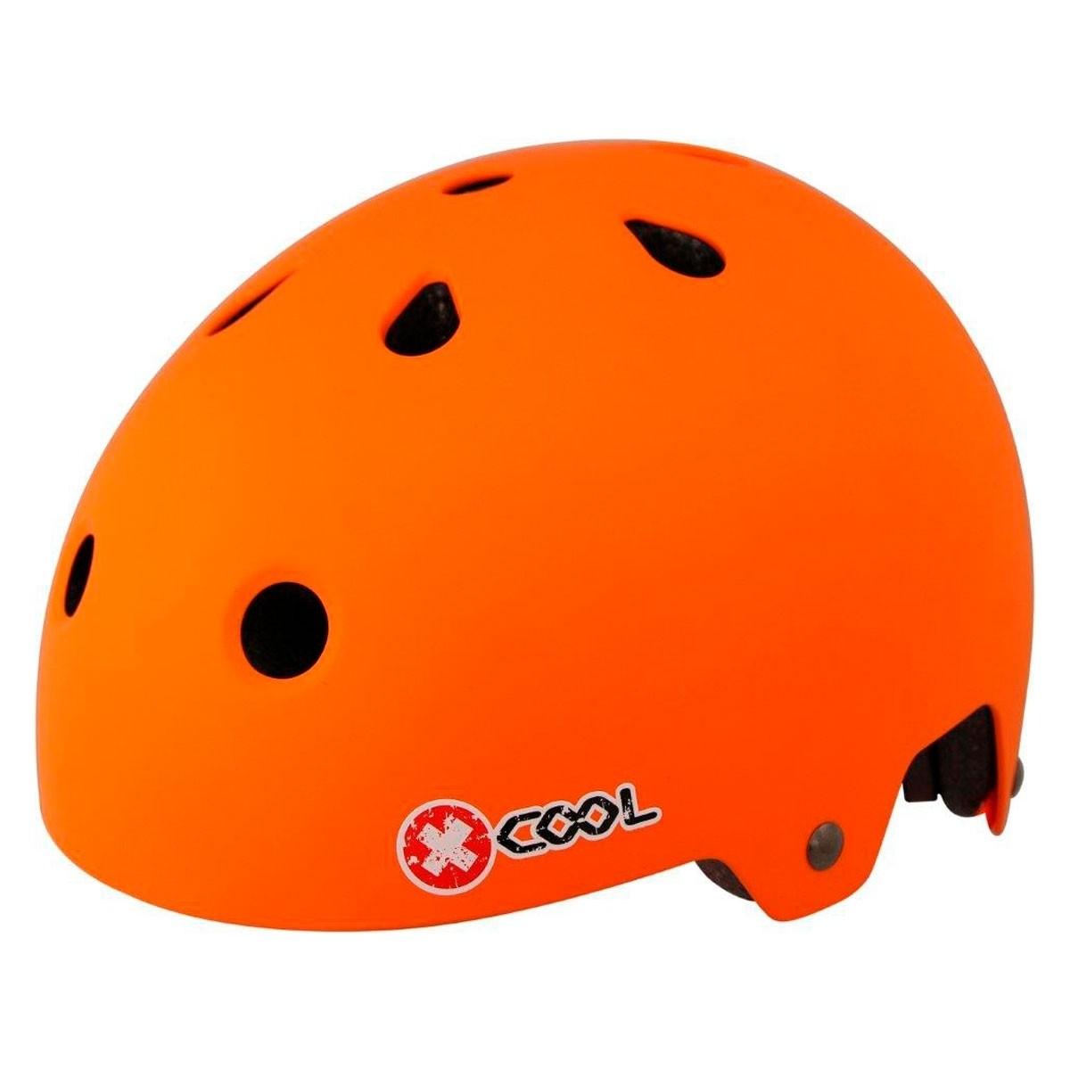 Pyöräilykypärä X-Cool BMX mattaoranssi 54-58