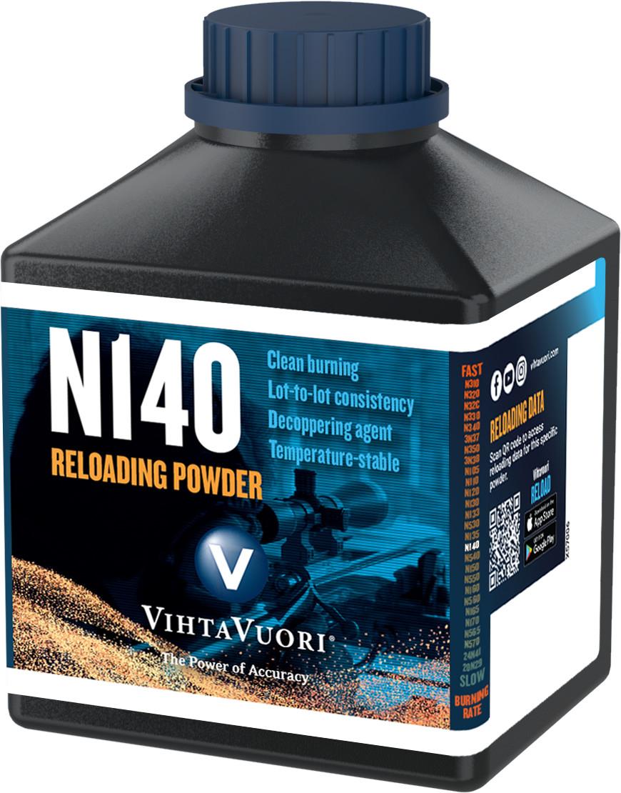 Vihtavuori N140 ruuti, 1 lbs (0,454 kg)