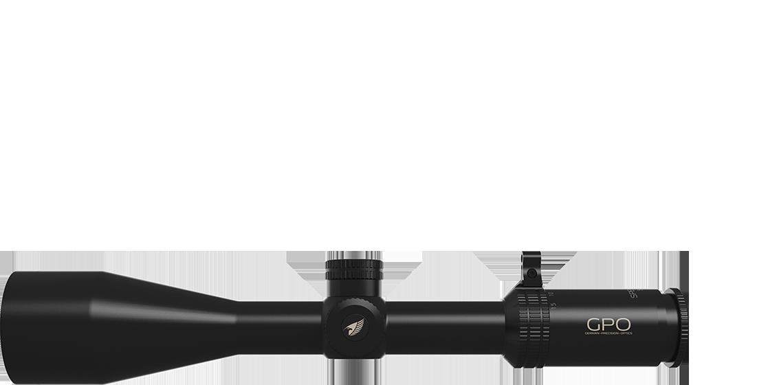 Kiikaritähtäin GPO Spectra 5x, 3-15x56i, valaistulla 4Gi ristikolla