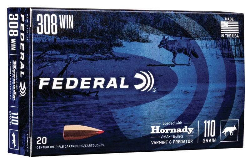 Federal .308win V-Max 7,15g 20 kpl / ras