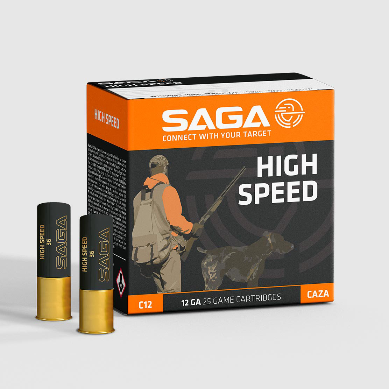 Saga High Speed 36g 12/70 25 kpl/ras