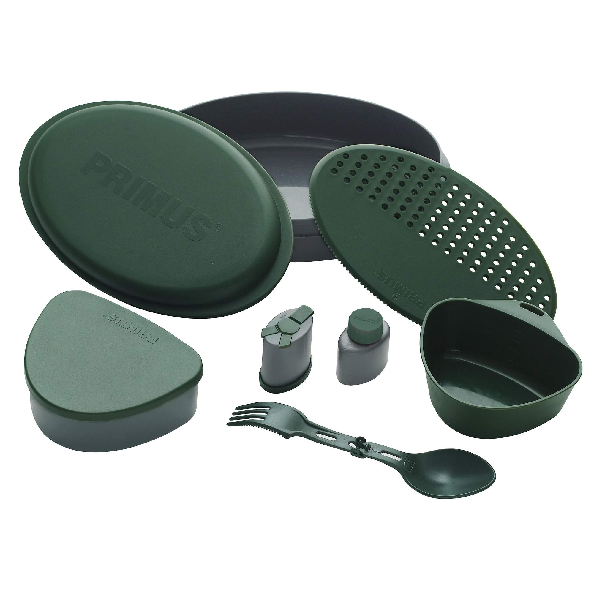 Primus P734002 Retkiastiasto vihreä, Meal Set Green