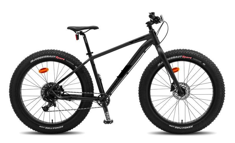 "Insera Wampa fat bike 11-v 19"" polkupyörä"
