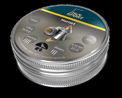 H&N Hornet 6,35 mm 1,50g 150 kpl/ras