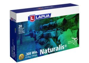 Lapua Naturalis LR .308Win patruuna N558, 11,0 g, 20 kpl / ras