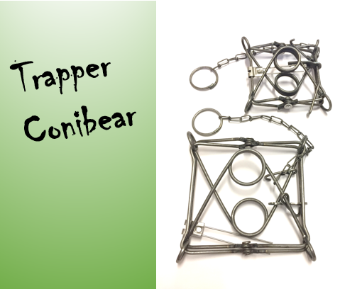 Hetitappavat raudat Trapper conibear TC-120 (11x11cm)