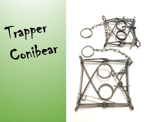 Hetitappavat raudat Trapper conibear TC-160 (15x15cm)