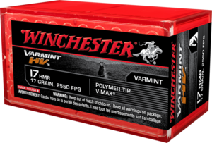 Winchester .17HMR Supreme V-MAX 17gr