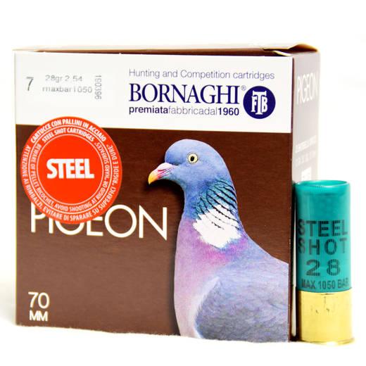 Bornaghi Steel Pigeon HV 12/70 28g 435m/s 25kpl