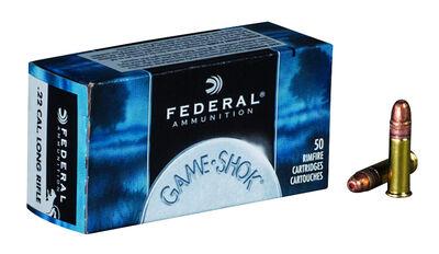 Federal 22 LR Classic haulipatruuna, hauleja 1,70g Game-Shok, 50 kpl / ras