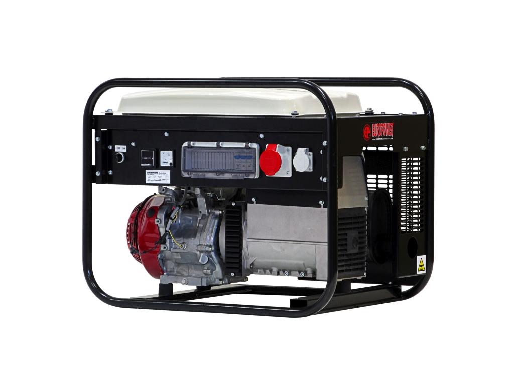Europower EP6500T-25 generaattori, voimavirta