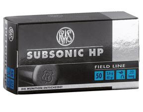 RWS Subsonic HP 22LR 50 kpl / ras