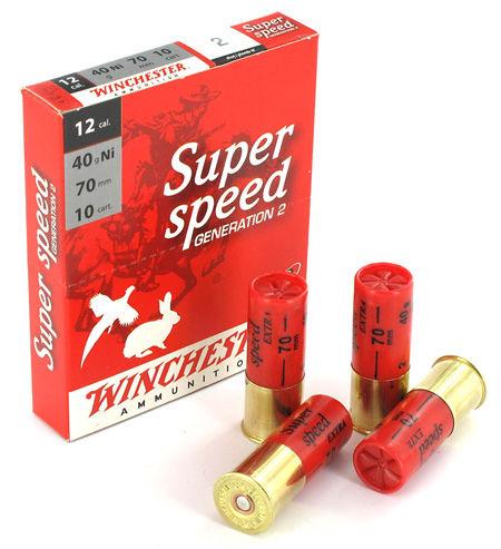 Winchester Super Speed 12/70 40g Ni, 10 kpl / rasia