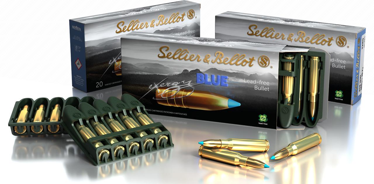 Sellier & Bellot .308win eXergy Blue TXRG 10,7 g /165grs  20 kpl /ras
