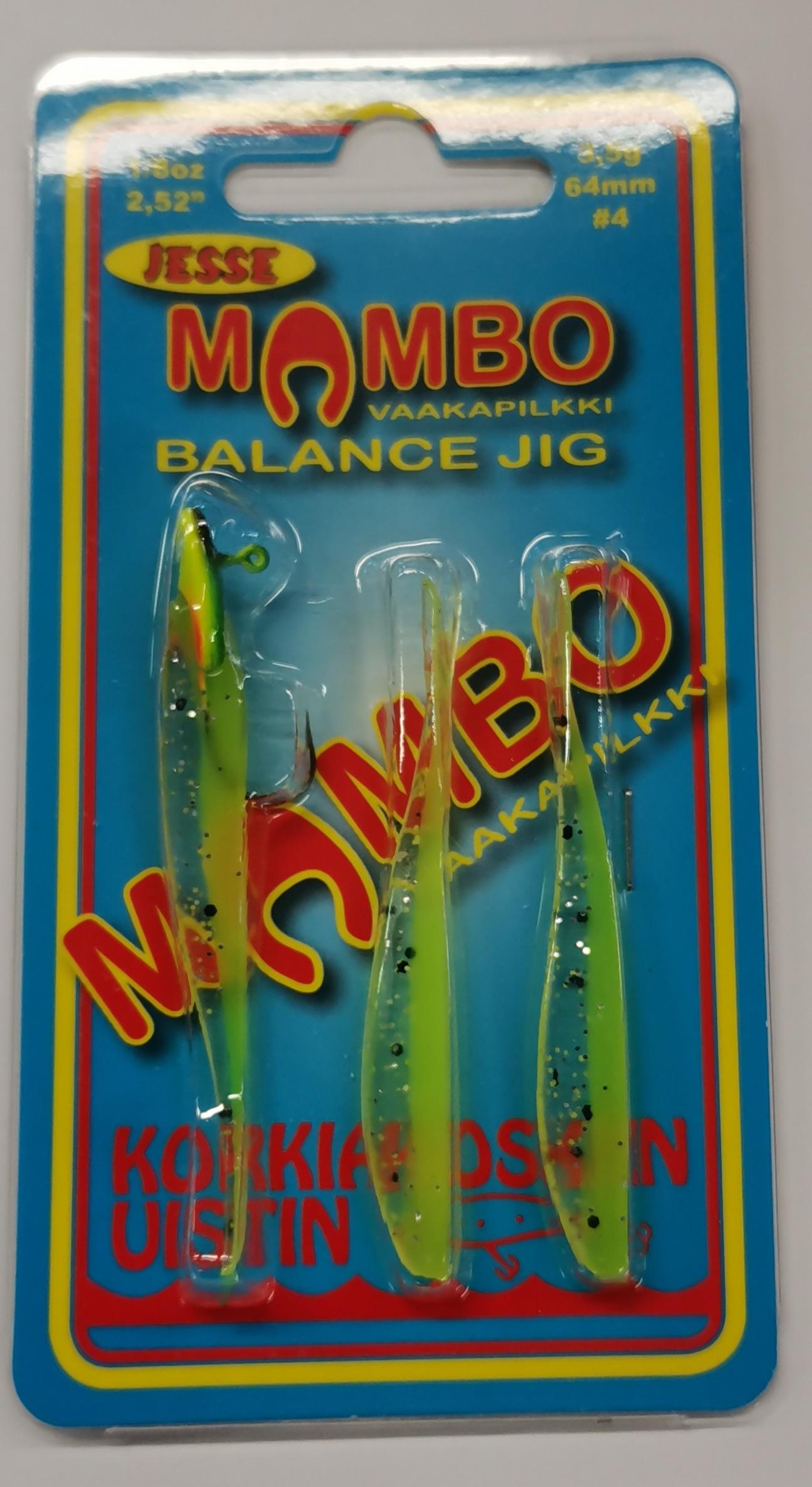 Mambo vaakapilkki 64mm 3,5g väri 07
