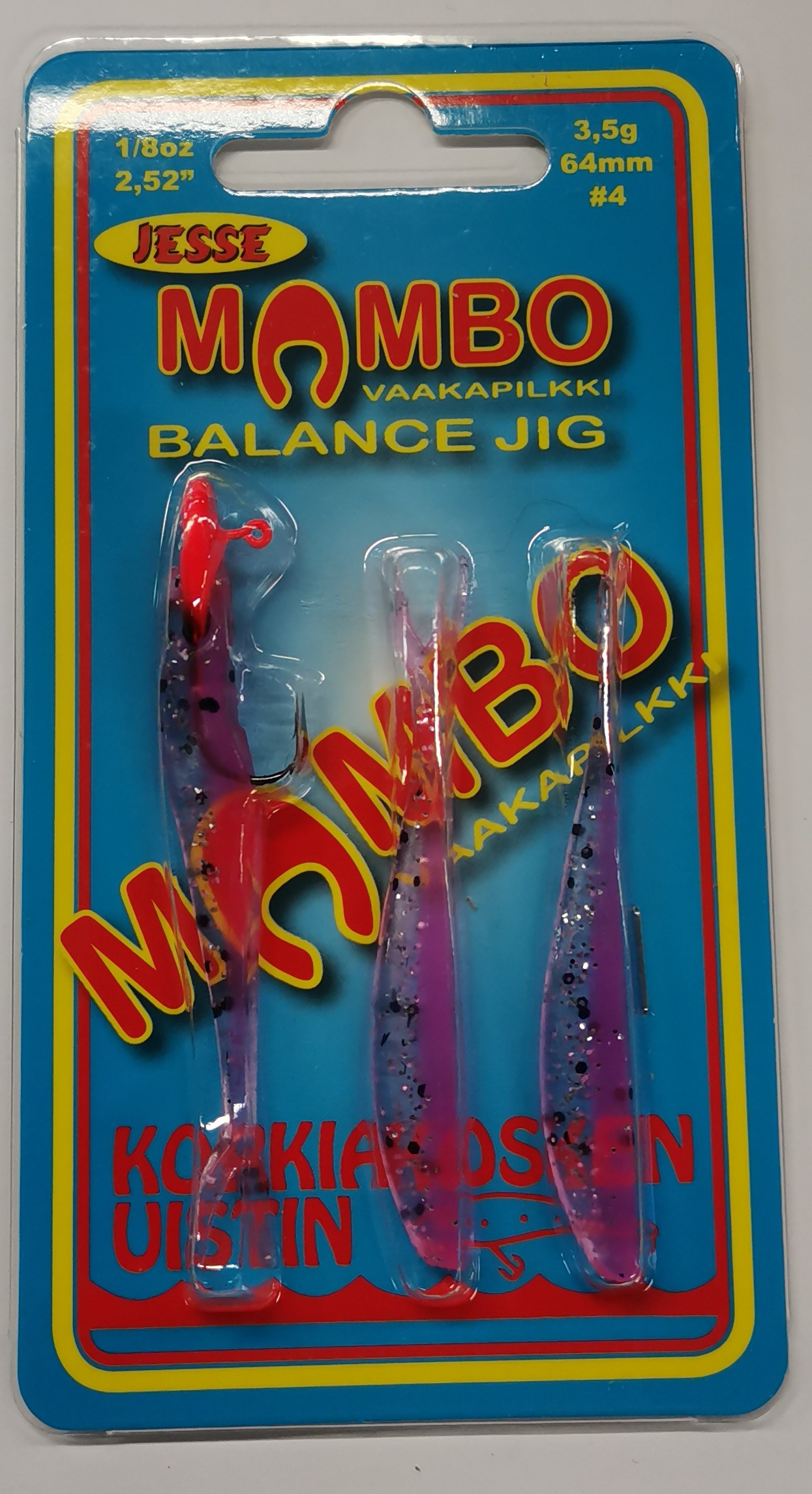 Mambo vaakapilkki 64mm 3,5g väri 08