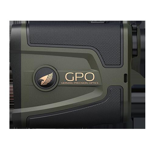 Etäisyysmittari GPO Rangetracker 1800 6x20 LRF, vihreä