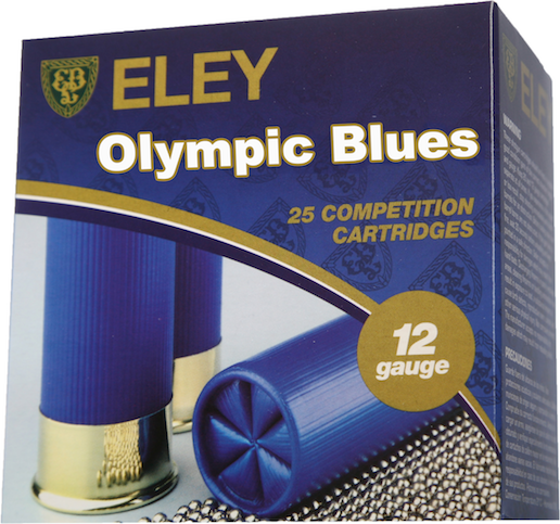 Eley Olympic Blues 28g 12/70 2.4mm 25 kpl/rs