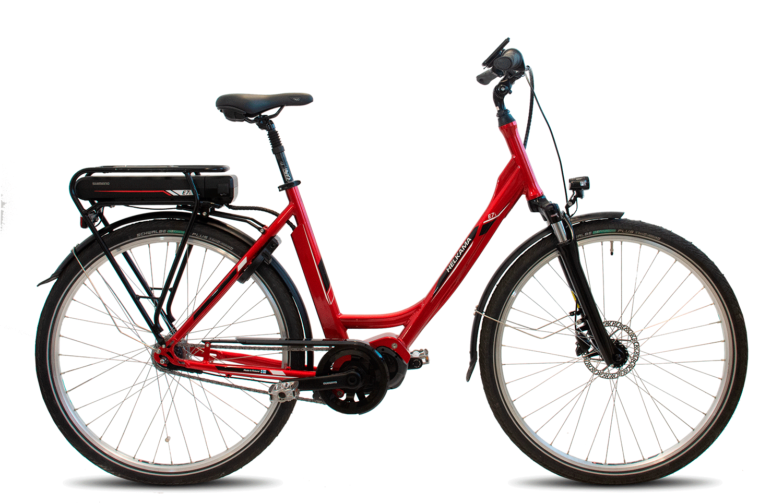 Helkama E7i e-Bike 7v 48cm punainen