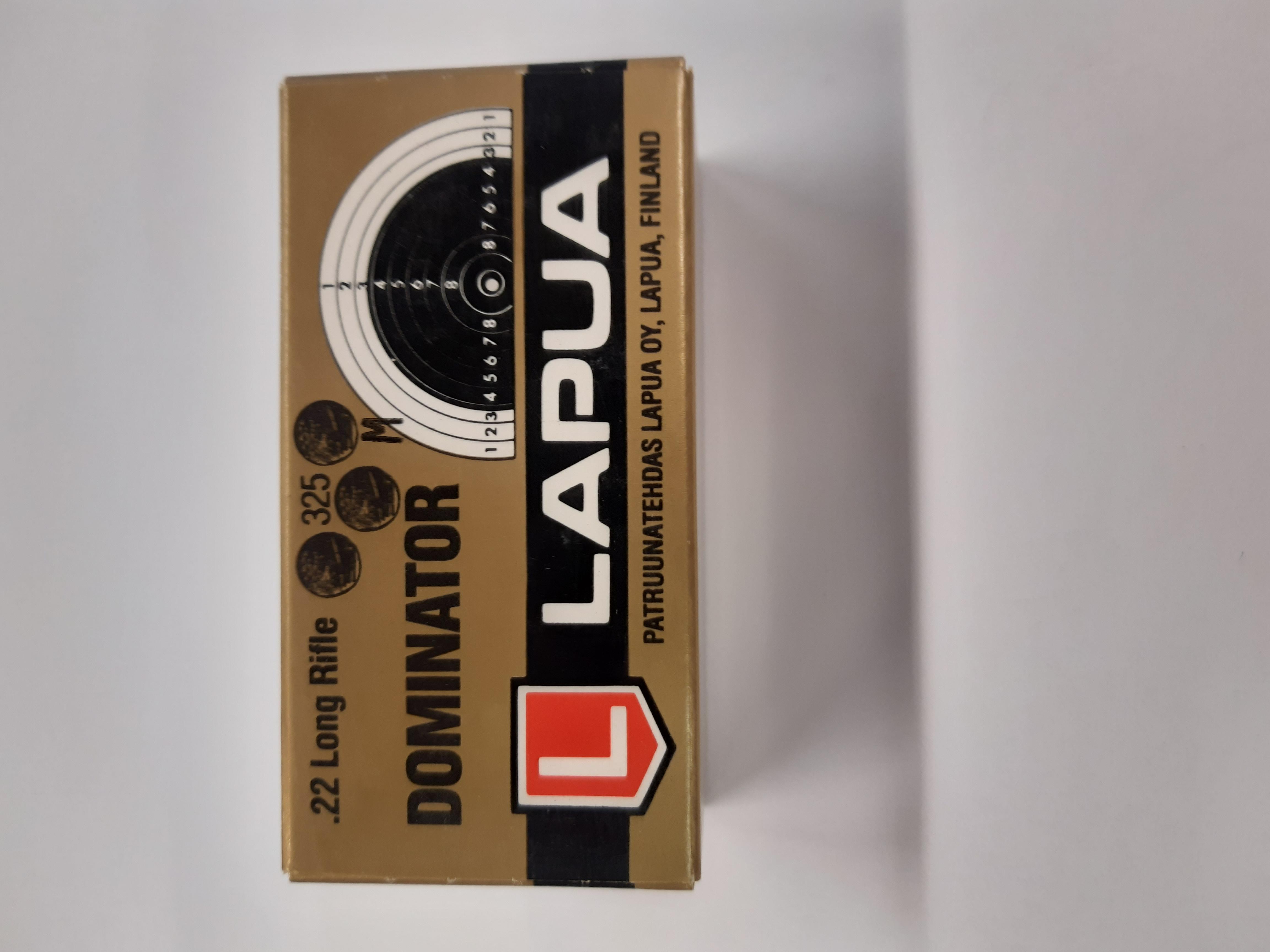 Lapua Dominator 22LR  (M) piekkarin paukku