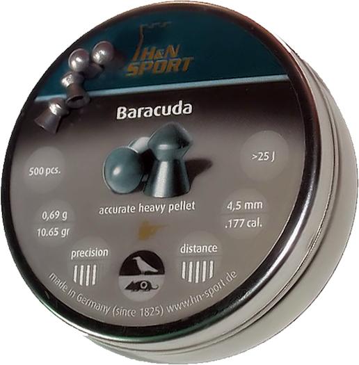 H&N Baracuda 4,5 mm 0,69g, 400 kpl/ras