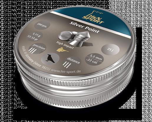 H&N Silver point 5,5mm 1,11g  200 kpl/ras