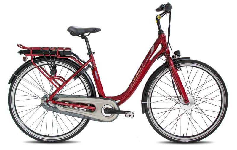 "Helkama CE3 28"" 3-v 48 cm etumoottori, Punainen"