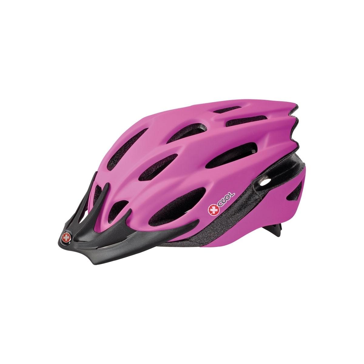 Pyöräilykypärä X-Cool City pinkki 54-58