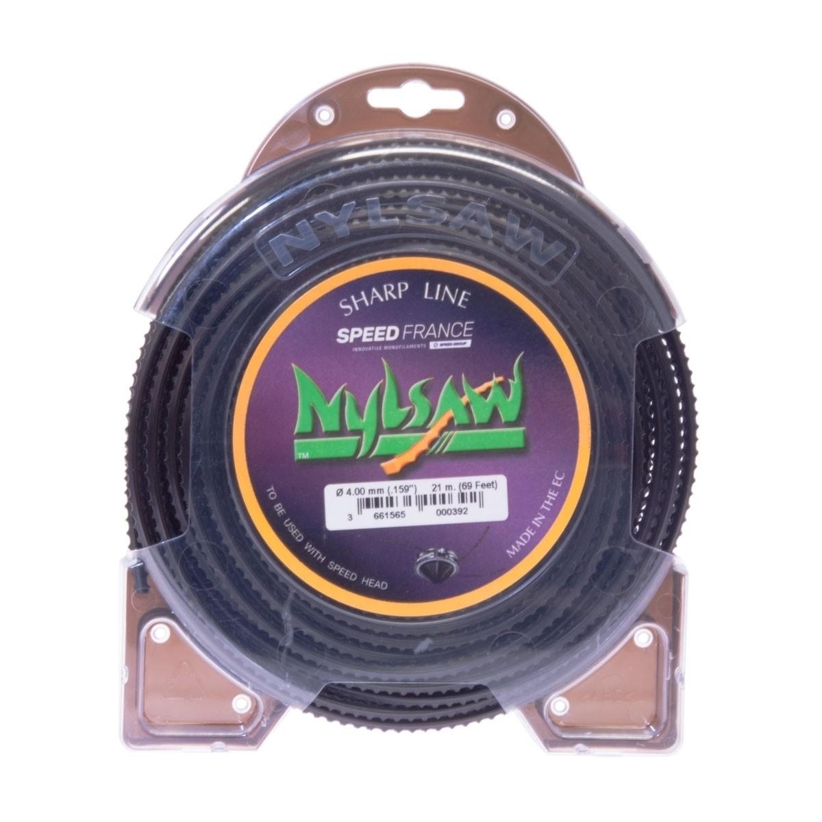 Siima SPEED-FRANCE: Nylsaw 4,5 mm, 16 metriä HUOM! Ei pätkitty